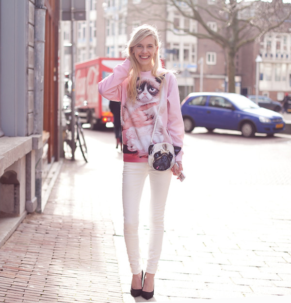 cocorosa sweater bag jeans shoes