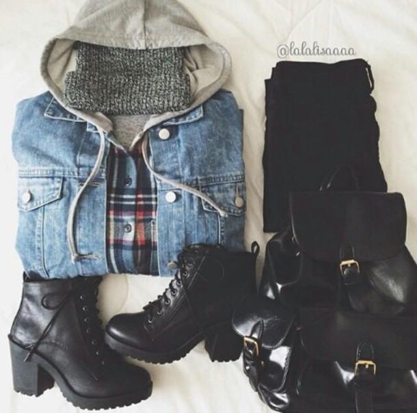 shoes coat