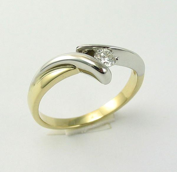 jewels złoty diamond ring gold impressimo pierścionek pierścionki zaręczynowe pierścionki
