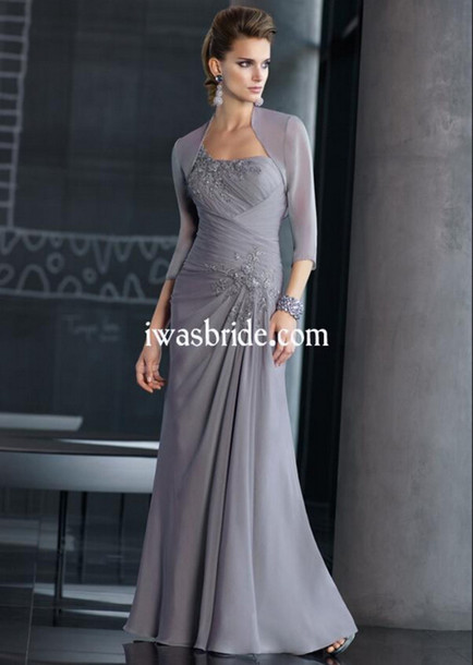 dress mother of the bride dress floor length dress
