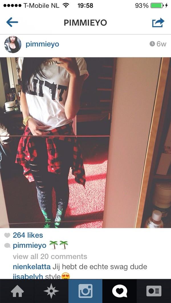t-shirt underwear fvkin top