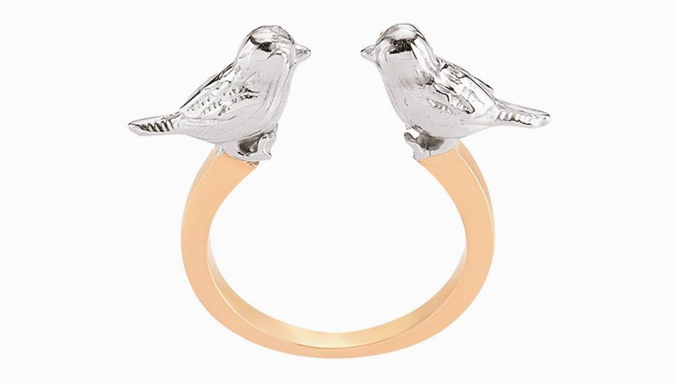 Paris Love Ring Gold | Mademoiselle Felee