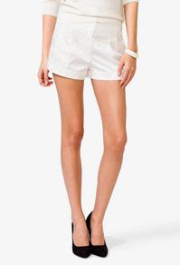 Paisley Satin Shorts   FOREVER21 - 2035017033
