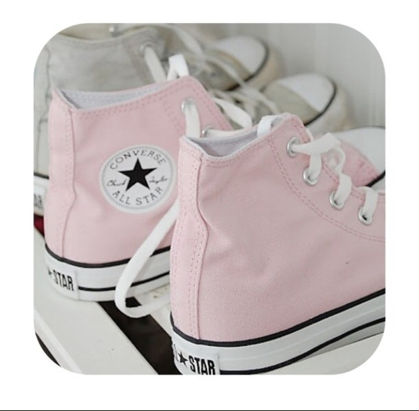 shoes converse converse pink summer