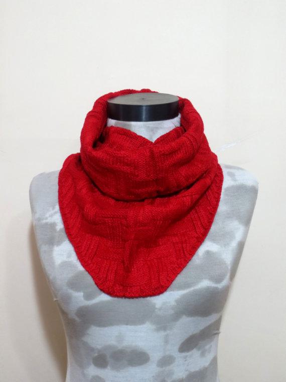 Valentine's DaySALEMachine knit Scarf Men  Winter by MenAccessory