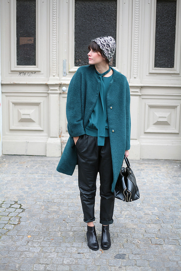 che cosa shoes pants bag coat blouse hat