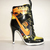 New Ladies Nike SB Dunk High Heels Yellow/Black