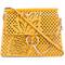 Chloé 'faye' pineapple bag, women's, yellow/orange, calf leather/calf suede