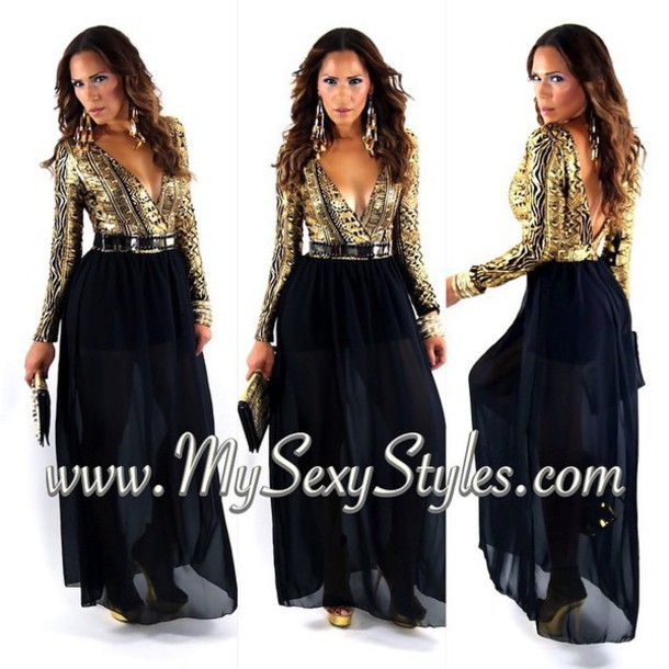 jumpsuit gold party outfits cocktail dress