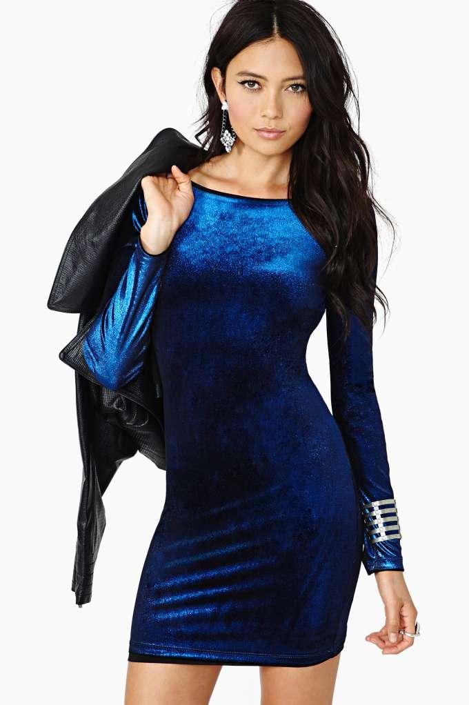 Back Off Velvet Dress | Shop Clothes at Nasty Gal
