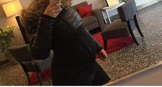 coat cloth jacket fur