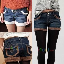 Denim Jeans Shorts lamb
