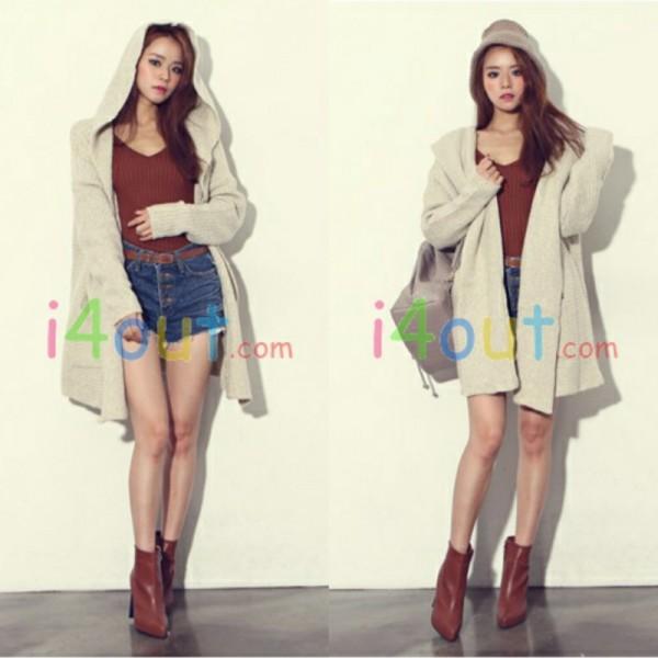 Women Long Sleeve Cardigan Jacket Coat Sweater Jumper Asia Free U s s M   eBay