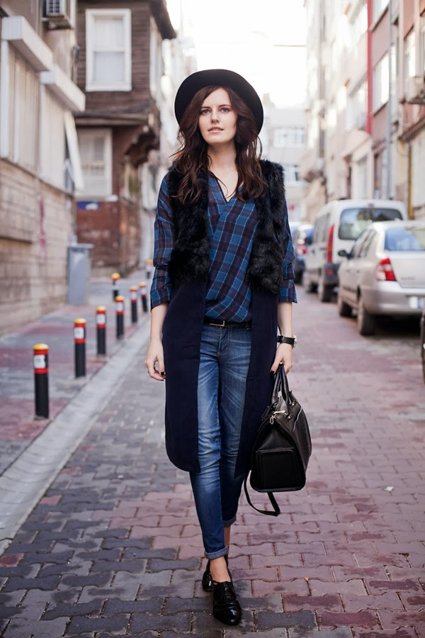 the bow-tie coat shirt jeans bag hat shoes