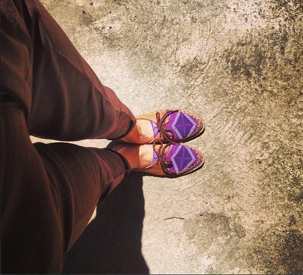 shoes ylla yllashoes folk tradition philippines purple shoes vibrant
