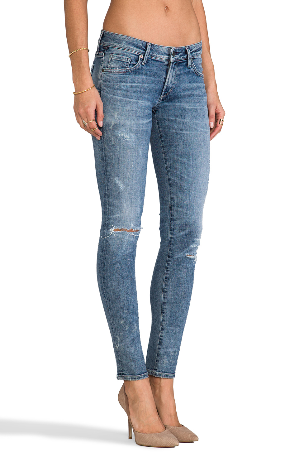 Citizens of Humanity Premium Vintage Racer Low Rise Skinny in Crosby | REVOLVE