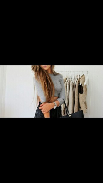 shirt color gray top