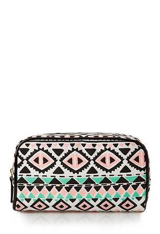 Globetrotter Small Cosmetic Bag | FOREVER21 - 1000105737