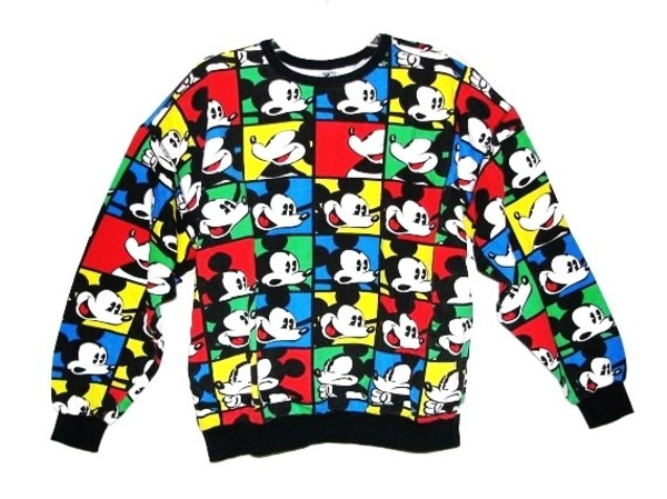 sweater mickey mouse mickey mouse
