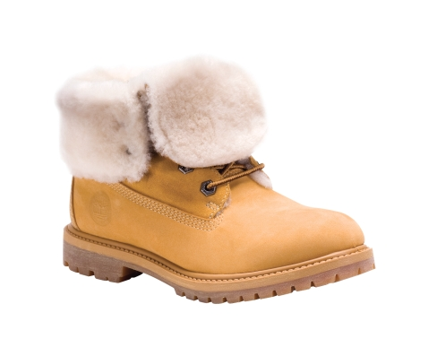 Timberland - Women's Timberland Authentics Roll-Top Shearling Boot
