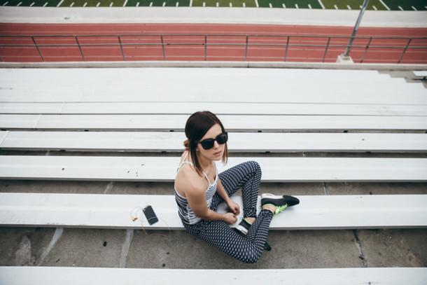 take aim blogger tank top leggings sportswear