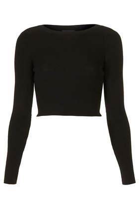 Rib Crop Top - Knitwear - Clothing - Topshop