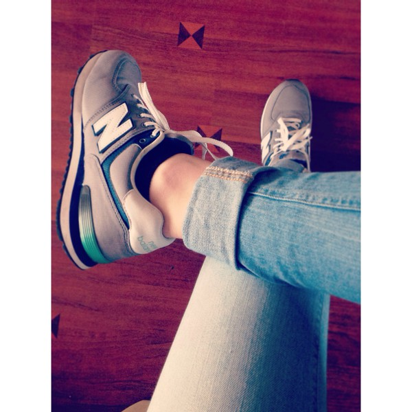 shoes me new balance sneakers new balance fashion 2014 jeans