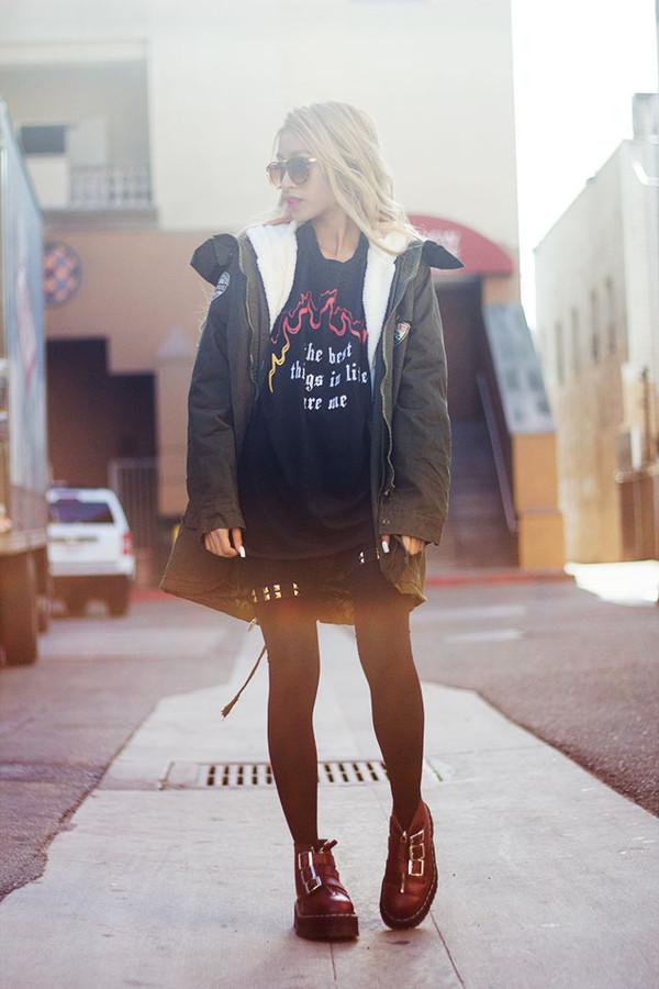 style2bones t-shirt coat
