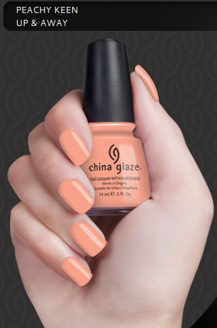 China Glaze Peachy Keen (14ml) :: Free Express Post