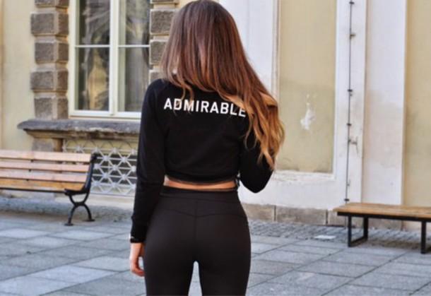 top sweater sweatshirt black sweatshirt black admirable leggings jacket admirable sweatshirt jeans slim leather leggins black sexy cute style tumblr fashion