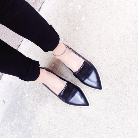 Acne Studios Philippa Flat Shoes   Spotted on @alwaysjudging   Keep.com