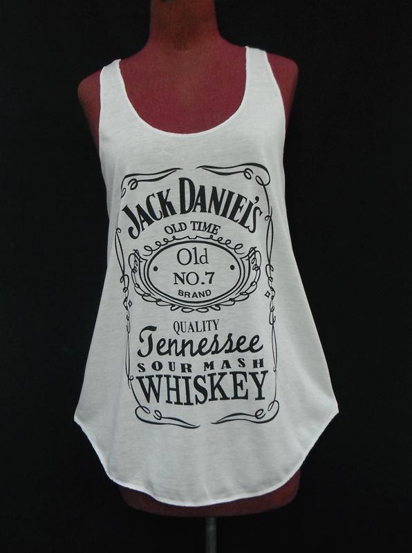 Sexy Women's Grey Jack Daniel's Tank Top Shirt Singlet Size s Free Shipping | eBay