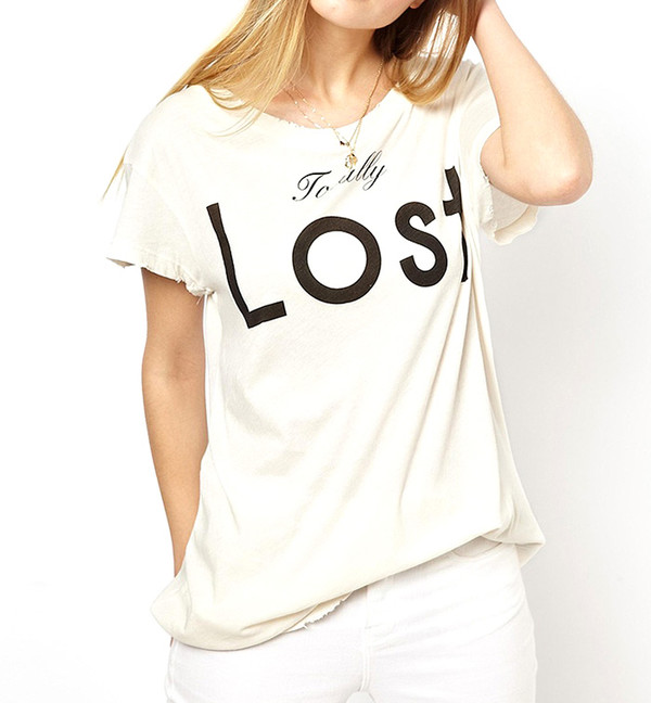 t-shirt white cool casual cute summer outfits