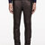 neil barrett black leather classic trousers