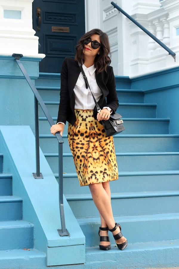 this time tomorrow jacket shirt skirt shoes bag sunglasses