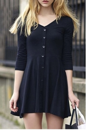 dress girly girl girly wishlist black dress black button up