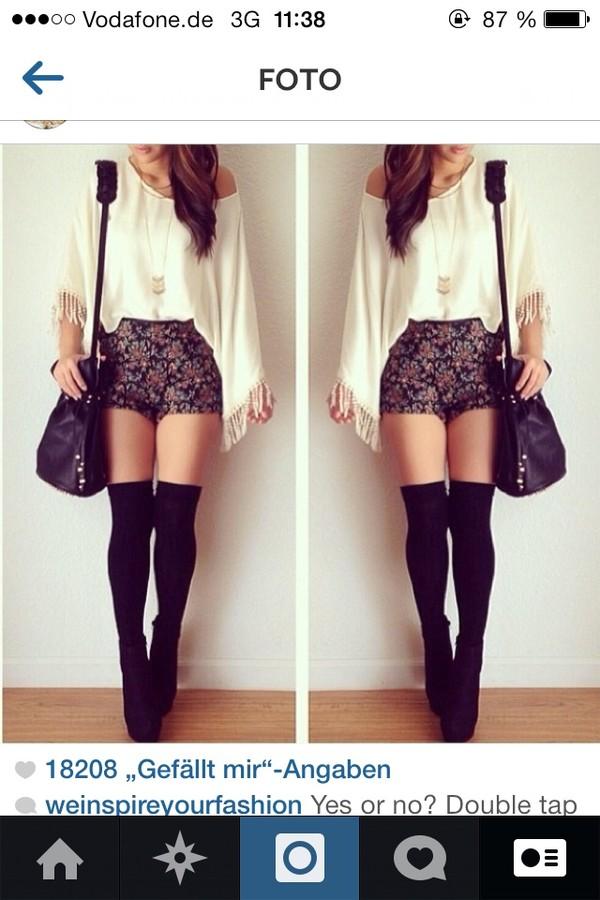 shorts vintage summer outfits blouse pants shoes