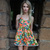 Tropical Resort Playsuit / Boutique By Bel