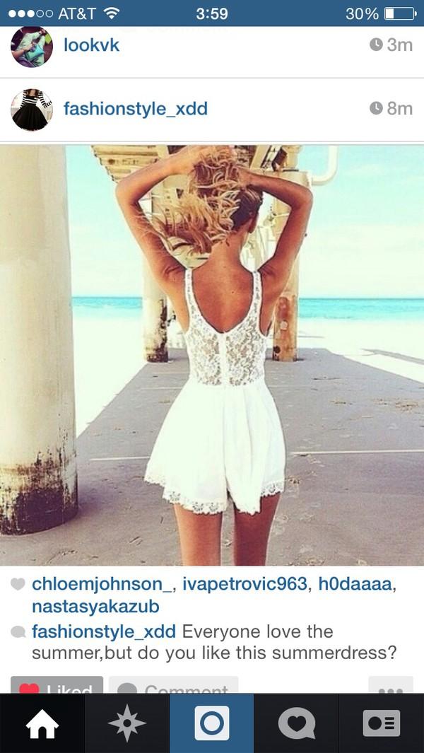dress summer dress white dress