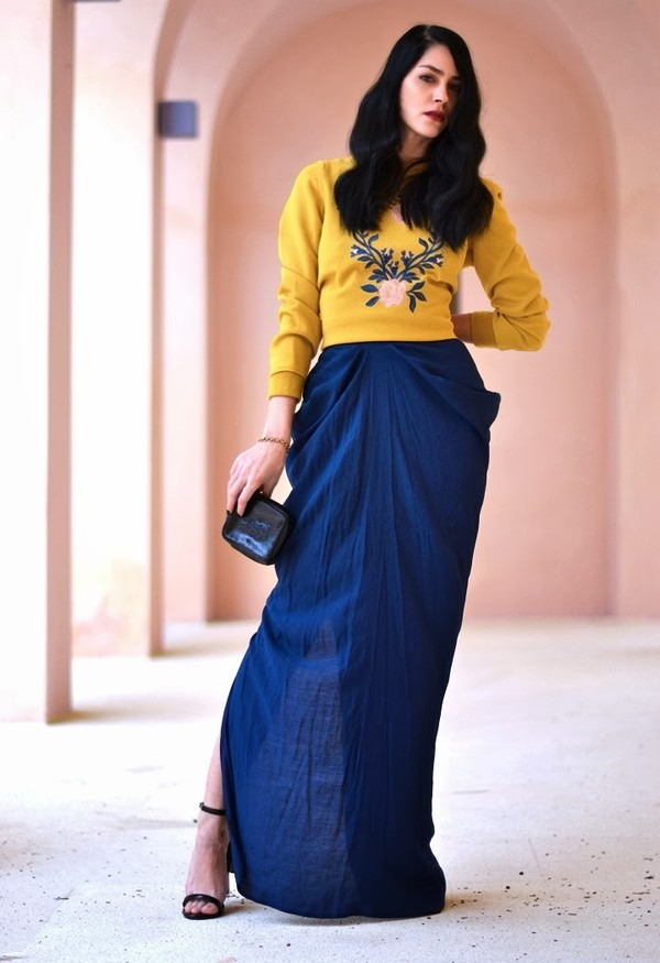 serial klother sweater skirt bag shoes