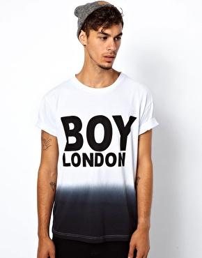 BOY London | Boy London Dip Dye T-Shirt at ASOS