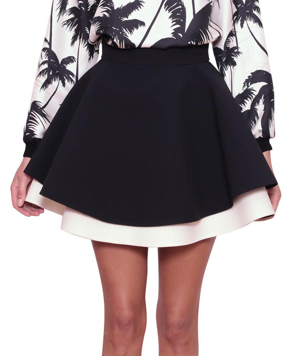 Fausto Puglisi Two-colored cady skirt | Lindelepalais.com 24182