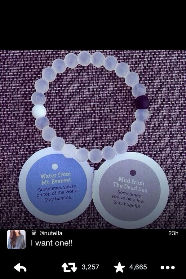 jewels bracelets pretty dead sea mount everest clear twitter