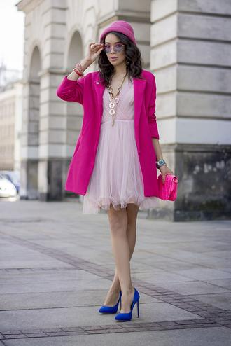 macademian girl coat dress shoes bag sunglasses hat jewels