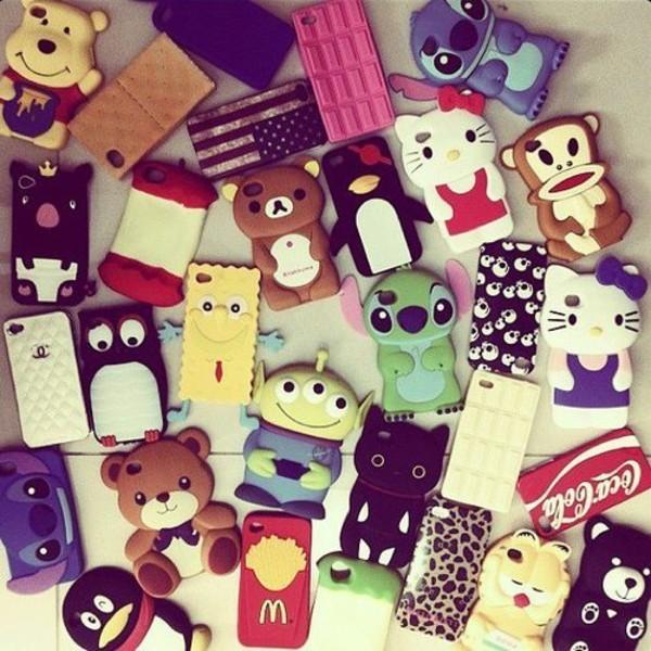 iphone iphone cover iphone case iphone 5 case iphone 5 case iphone 5 case mcdonalds coca cola lilo and stitch cute Accessory phone cover phone cover