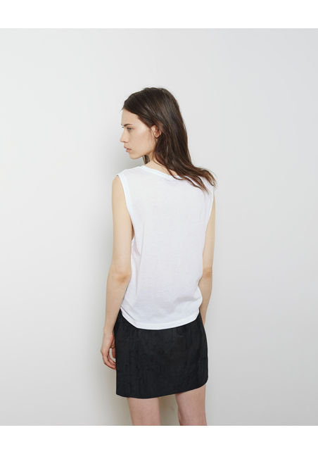 T by Alexander Wang  Single Jersey Muscle Tee  |   La Garçonne