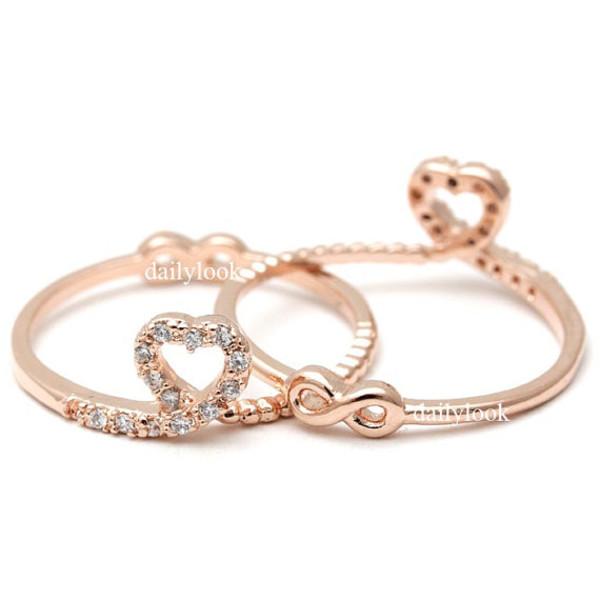 Amazon Fashion Plaza 18k Rose Gold Plated Heart Shape