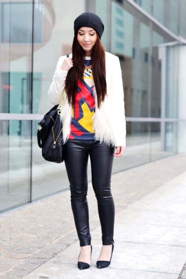 flirting with fashion jacket sweater pants hat bag