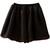 Black Elastic Waist Mesh Yoke Flare Skirt - Sheinside.com