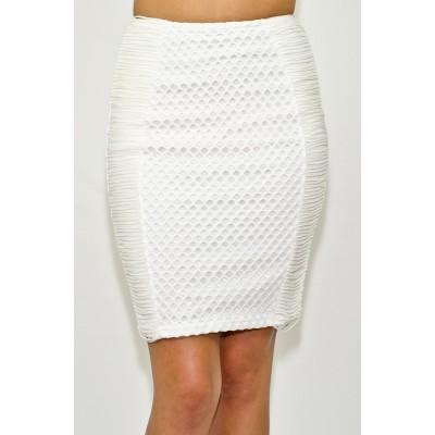 Shredded Pencil Skirt